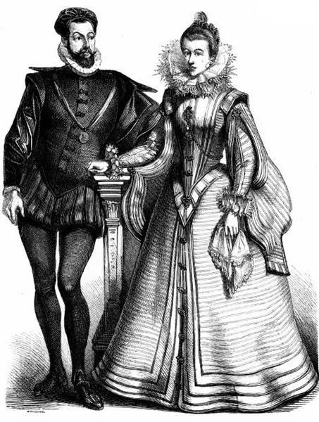 Возрождение во франции история костюма с илюстрациями