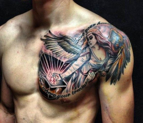 New Tattoo Designs For Men: 10 Best Images About Best Shoulder Tattoo Designs For Men