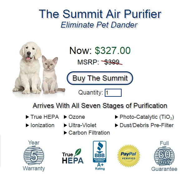 Best Air Purifiers for Pet Dander & Odor Removal