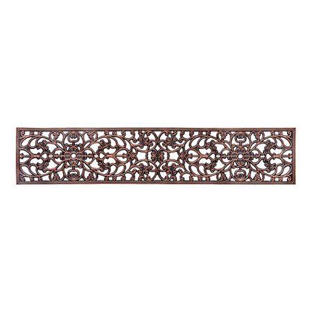 Best Windsor Scroll Antique Copper Rubber Stair Treads Door Mat Stair Treads Black Rubber Stairs 400 x 300