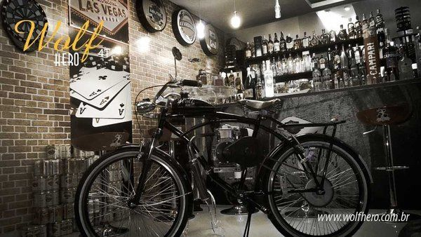 Bicicleta Motorizada Wolf Hero - Pesquisa Google