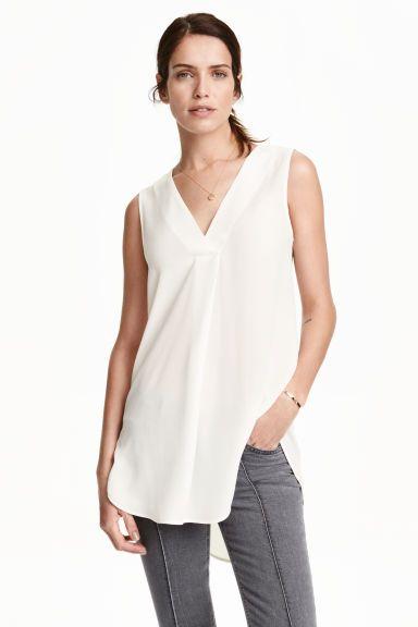 Bluzka z krepy | H&M