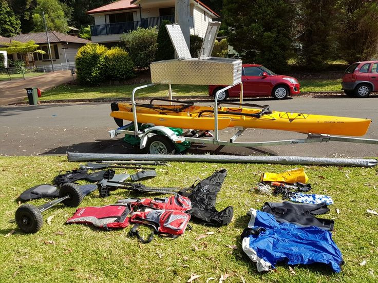 Hobie Adventure Island with trailer and extras (With