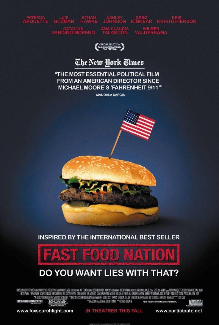 """Don Henderson, de marketingmanager van een grote Amerikaanse fastfoodketen, heeft een probleem. Er zit besmet vlees in de """"Big One"""", de best verkopende burger van de keten (2001)"""