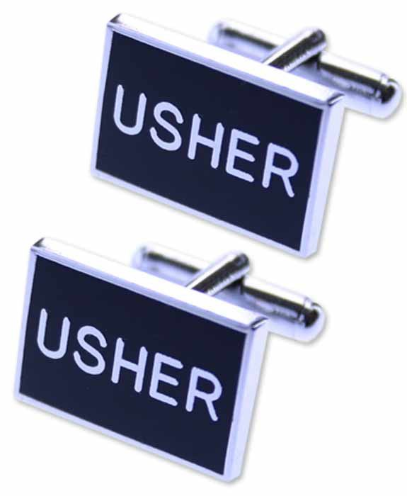 Wedding Cufflinks- USHER Cufflinks