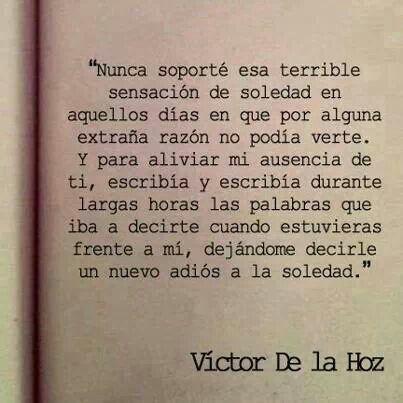 Víctor de la Hoz.