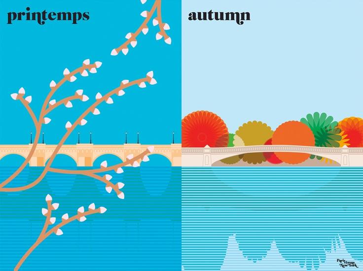 spring vs. autumn