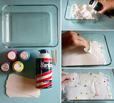 how to make marbled paper