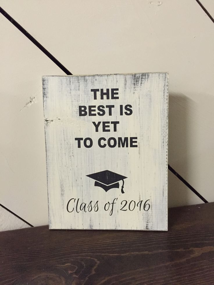 THE BEST IS YET TO COME CLASS OF #2016 #GRADUATION