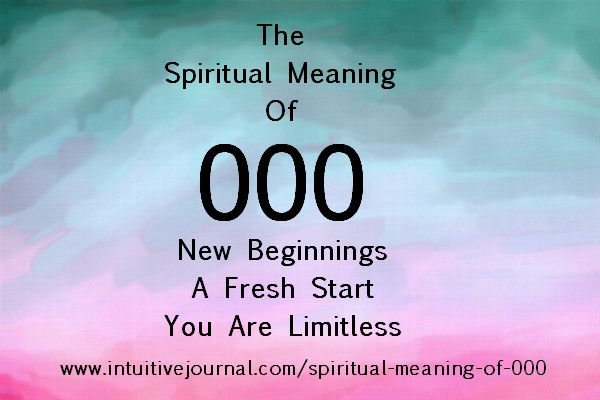spiritual meaning of numbers pdf