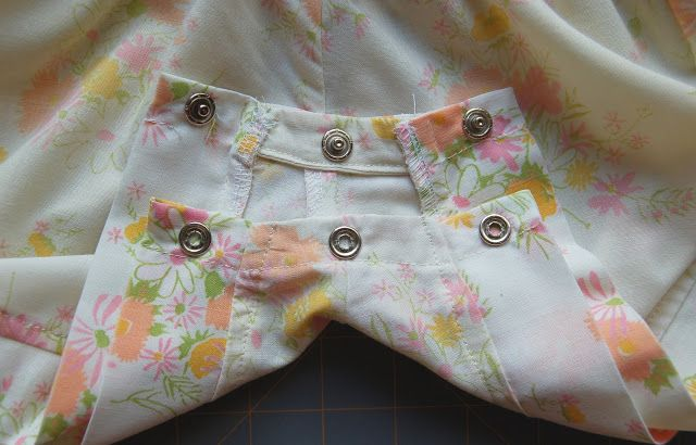 Double Stitching: Tutorial: Adding Snaps to a Romper or Shorts