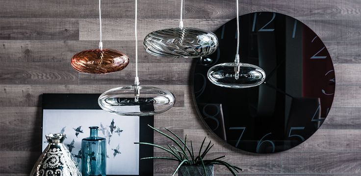 lim | lampade - Lampada Cattelan a soffitto con paralume in vetro borosilicato trasparente. Lampadina inclusa.
