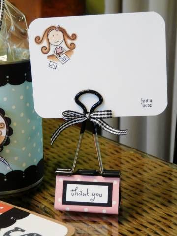 Teacher Gift Binder Clip by manyblessings - Cards and Paper Crafts at ...