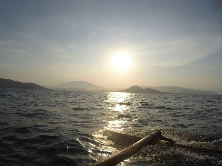 Sunset in Pahawang Island, Lampung - Indonesia