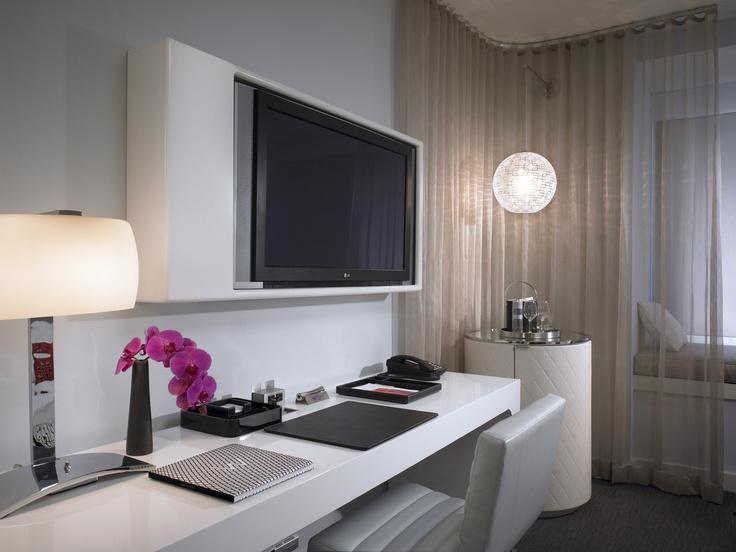 Guestroom Desk W Hotel   Residence Hollywood. 310 best Hotel images on Pinterest