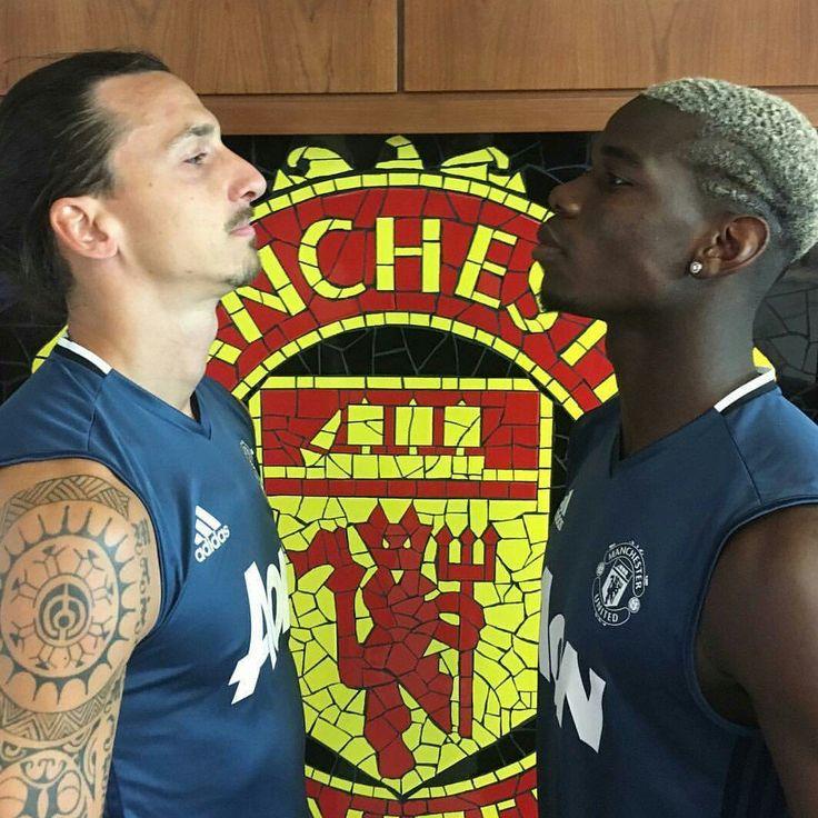 Ibrahimovic and Pogba - Manchester United..... MANCHESTER UNITED SPORT NEWS https://manunitedsport.blogspot.com/
