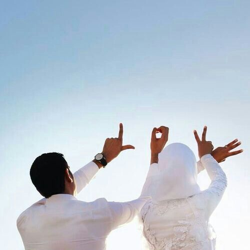Muslim Love couple Wallpaper : Love. Muslim couple Beauty around Pinterest Wedding, Wedding pictures and Pictures