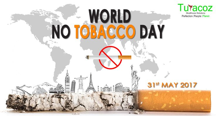 #TuracozHealthcareSolutions, support ' #WorldNoTobaccoDay ', #2017 and urge people to refrain from any form of tobacco consumption and use. We must all join hands and raise our voice against both active and passive smoking so that a brighter and healthier future is ensured for our younger generation and our nation. #HealthyFood, healthcare and #Education is what we all deserve, let us not lose it to the #TobaccoSmoke.