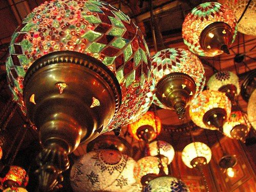 Turkish Lamps.These Can Be Purchased In Most Markets #home