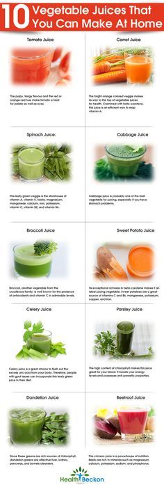Top 10 Vegetable Juices That You Can Make At Home