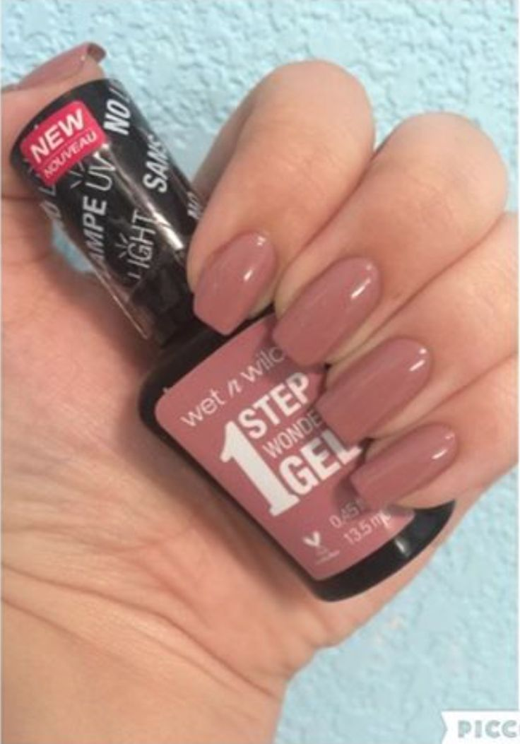 @polishedbyjesscharis shows us how a mani that's simple and sweet can never be beat!  She painted her nails using our 1 Step WonderGel in Stay Classy. #regram #wetnwildbeauty #crueltyfree #nailsofinstagram