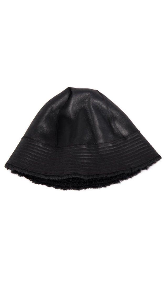 Rick Owens Gilligan Hat In Shearling  dde25919d12
