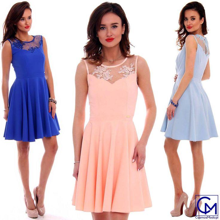 coś z dziedziny skromnego piękna 😍😘💋 Link do produktu: http://bit.ly/SukienkaCMK285 Stylistka Sara
