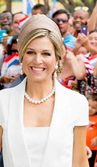 Queen Maxima and King Willem Alexander in Sail Aruba