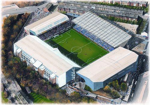 Hillsborough(Sheffield Wednesday) @ sportsstadiaart.com