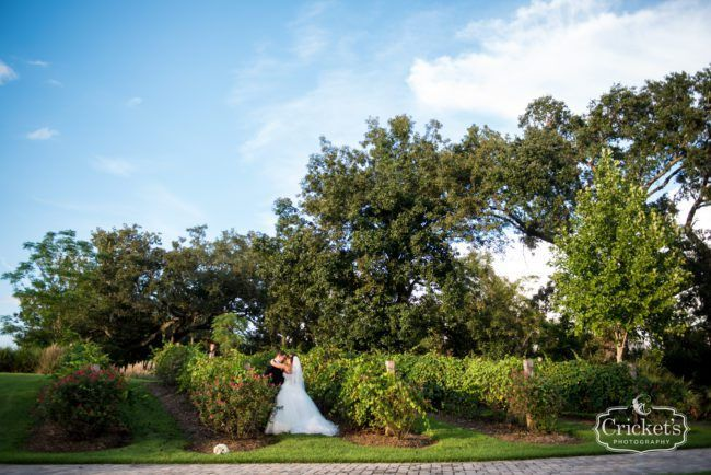 Tuscan wedding at the beautiful Bella Collina in Montverde, FL.| Photo by Cricket's Photography