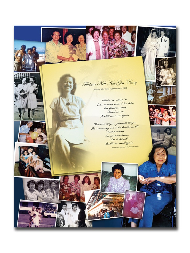 5 Tips to Creating a Beautiful Funeral Photo Collage | Last Impression Memorial Design
