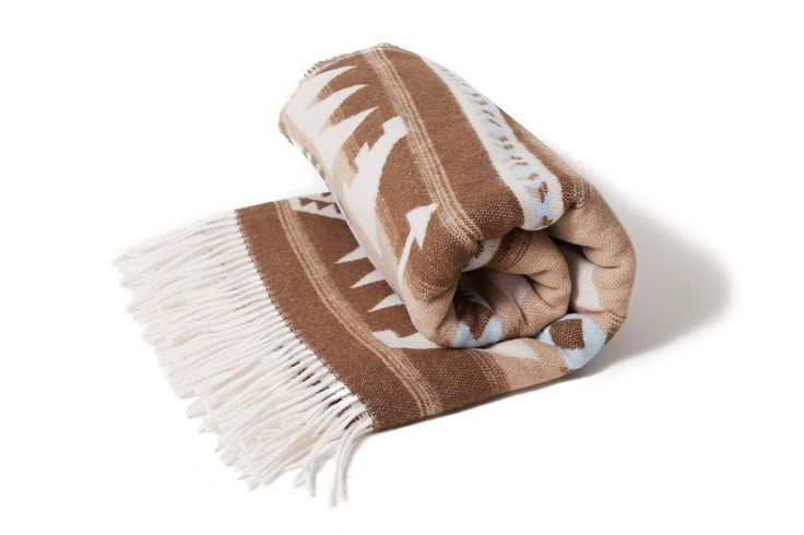 Arrow Blanket by Sackcloth and Ashes/Beige-$99.00