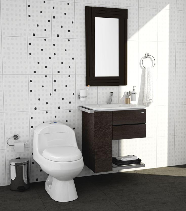 Sanitarios y muebles para ba os peque os corona imagina - Muebles de bano pequenos ...