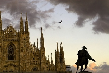 Milan Cathedral - Milan, Italy. Possibly, but I think we're shooting for Aviano --> Venice --> Rome --> Naples