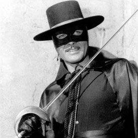 On le regardait à l'école le jeudi. Zorro (renard) en espagnol) est un personnage de fiction créé en 1919 par Johnston McCulley. L'action se déroule au début du 19e siècle à Los Angeles. Don Diego de la Vega, fils du notable don Alejandro de la Vega, décide de se faire justicier aidé par son fidèle serviteur muet, Bernardo.