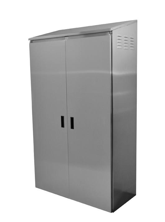 Mop Sink Cabinet : Double Width Mop Sink Cabinet #9-OPC-84D Provides storage for mop ...