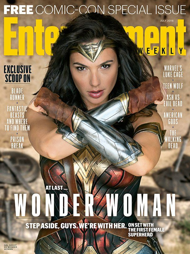 Wonder Woman - Entertainment Weekly Comic-Con Special Issue.