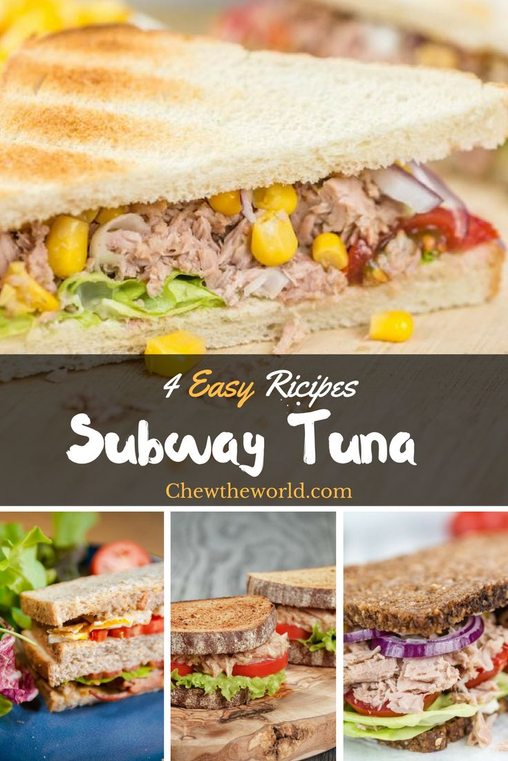Of all the sandwiches I have eaten, nothing beats a good subway tuna. There's just something about fish meat that makes this sandwich feel light.