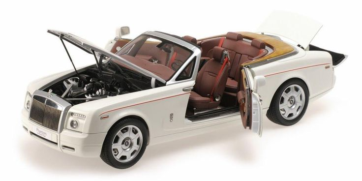 1:18 ROLLS-ROYCE PHANTOM DROPHEAD ENGLISH WHITE