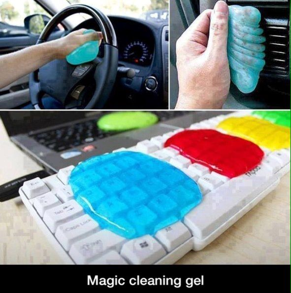 Wow. I think gel entertains me more then helps me, but this seems like a pretty cool idea.