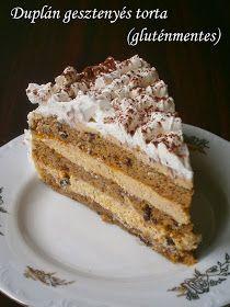 A szűkebb és tágabb családunkban ez az egyik kedvenc torta. :) A tésztája a sok tojáshabtól könnyed, a gesztenyével és csokival pedig nagyo...