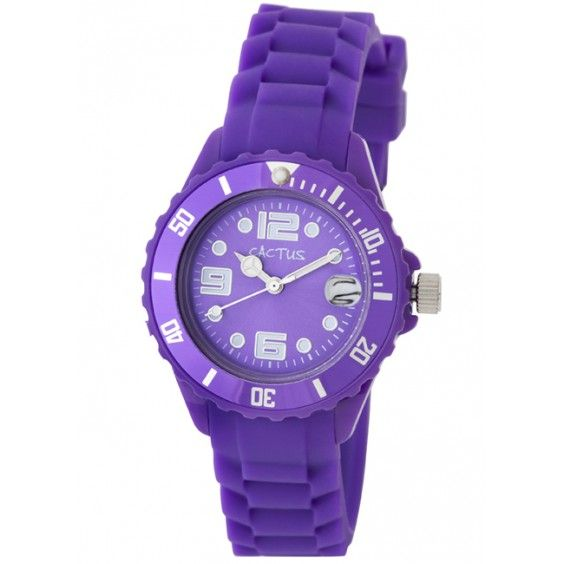 Cactus - Watch Purple with Date (CAC-63-M09)