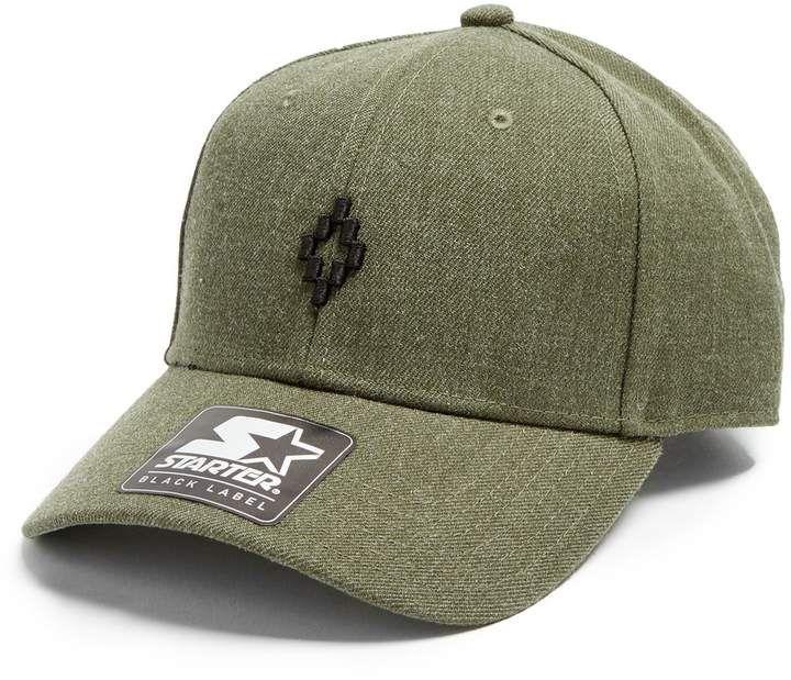 2f84693e9 MARCELO BURLON Starter Pelken-embroidered baseball cap | The man in ...