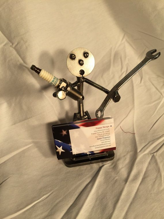 mechanic/craftsman card holder/mechanic figurine/craftsman