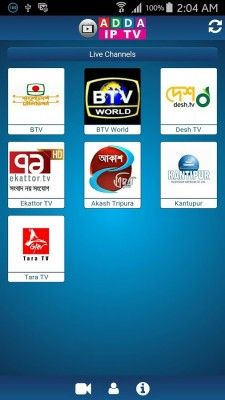 Adda IPTV is a new and trendy IPTV app originated from Bangladesh. The app is available for Android and has compatibility with an Android set top box. We are also providing iOS app. Join Adda and start streaming live TV for free! Current available channels: • BTV World • Desh TV • Ekattor TV • Kantipur (Nepal) • Akash Tripura (India) • Tara TV (India) https://www.appbajar.com/bn/app/cob.app.addaiptv?id=252
