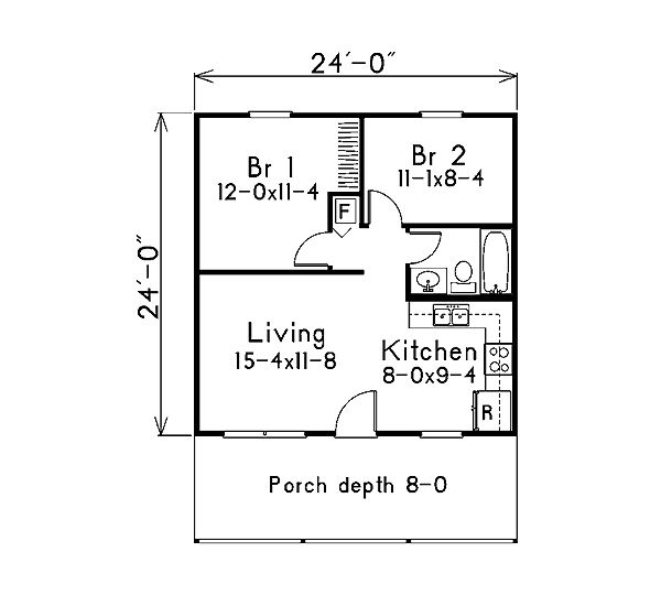 39 best house plans images on Pinterest | Small houses, Floor plans ...