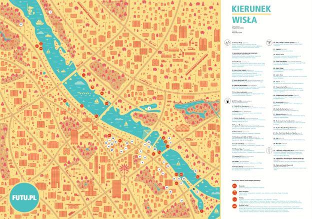 KIEURUNEK WISŁA na FUTU.PL Kluby, kawiarnie, restauracje, plaże, przystanki promów, wypożyczalnie rowerów oraz inwestycje w budowie. Mapa miejsc, które odmieniły warszawskie tereny położone nad rzeką.
