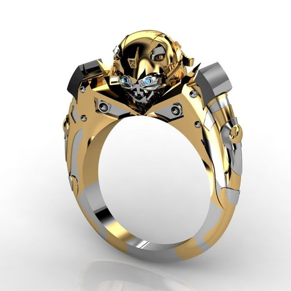 Transformers Bumblebee Gold-Plated Ring