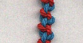 Aquí te va la segunda parte de las formas en las que puedes tejer hilos o cuerdas para darles miles de usos.  Recuerda que puedes variar el ...