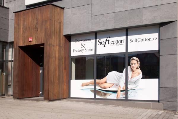Nové prostory firmy Soft Cotton a zároveň Show Room.